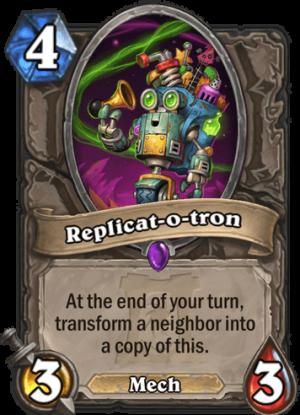 Replicat-o-tron Card