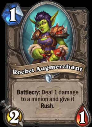 Rocket Augmerchant Card