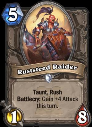 Ruststeed Raider Card
