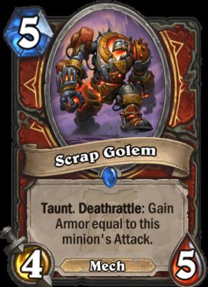 Scrap Golem Card