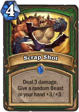 Scrap Shot Card