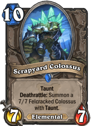 Scrapyard Colossus Card