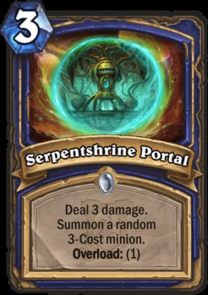 Serpentshrine Portal Card