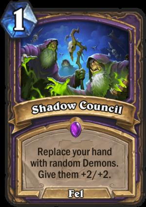 Shadow Council Card