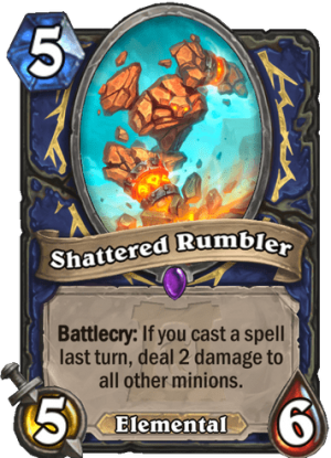Shattered Rumbler Card
