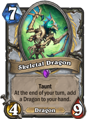 Skeletal Dragon Card