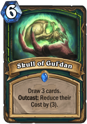 Skull of Gul'dan Card