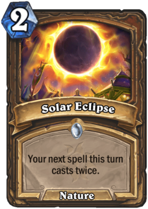 Solar Eclipse Card
