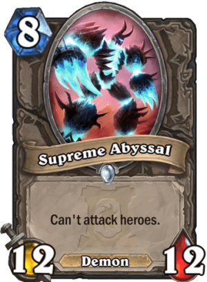 Supreme Abyssal Card