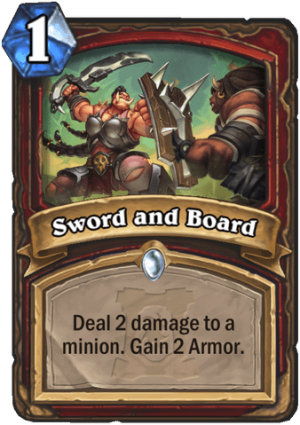 Sword and Board Card