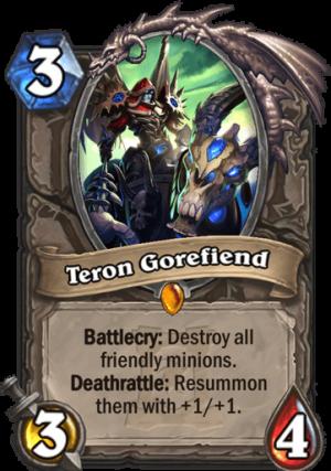 Teron Gorefiend Card