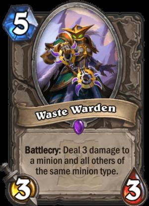 Waste Warden Card