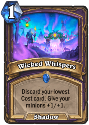 Wicked Whispers Card