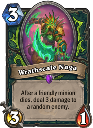 Wrathscale Naga Card