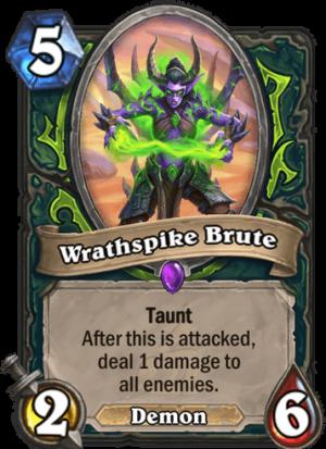 Wrathspike Brute Card