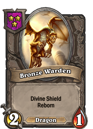 Bronze Warden Card!