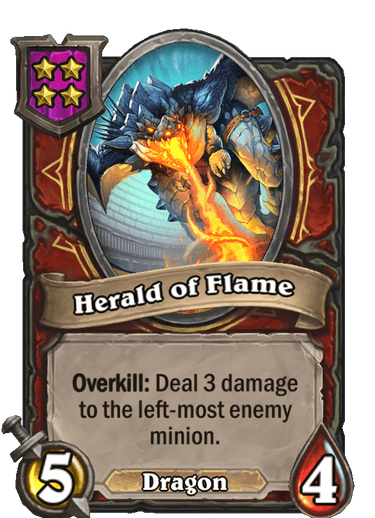 Herald of Flame Card!