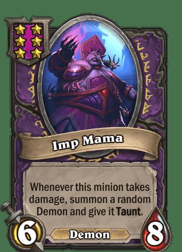 Imp Mama Card!