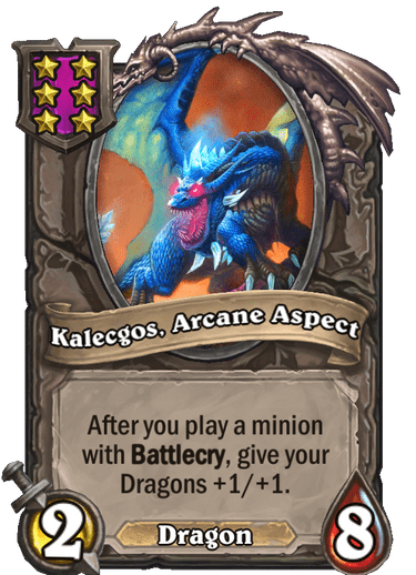 Kalecgos, Arcane Aspect Card!