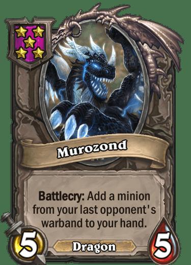 Murozond Card!