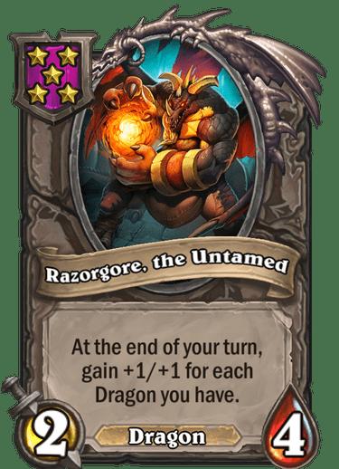 Razorgore, the Untamed Card!