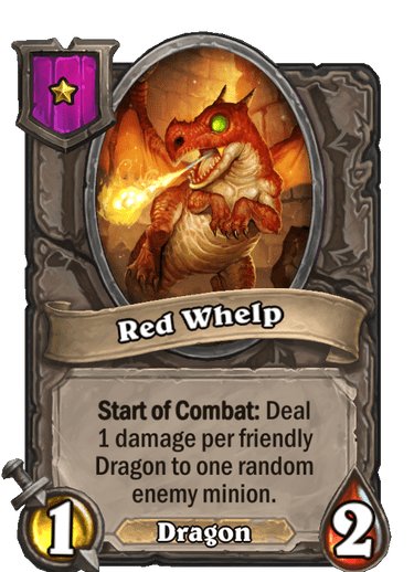 Red Whelp Card!