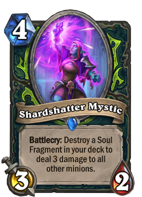 Shardshatter Mystic Card