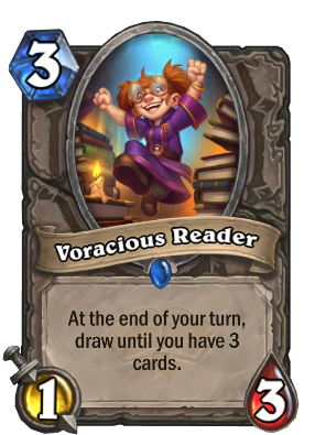 Voracious Reader Card