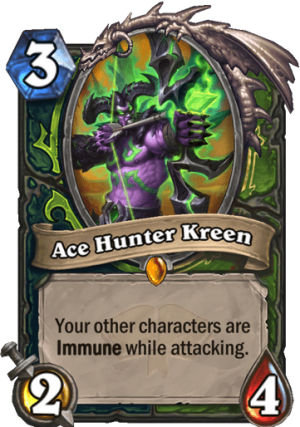 Ace Hunter Kreen Card