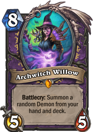 Archwitch Willow Card