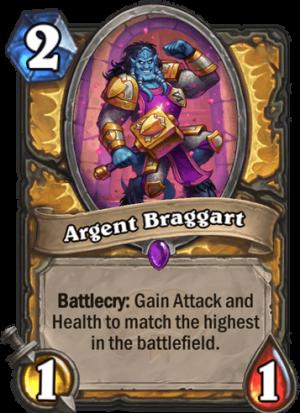 Argent Braggart Card