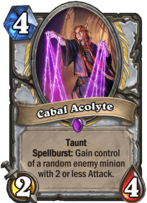 Cabal Acolyte Card