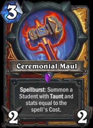 Ceremonial Maul Card