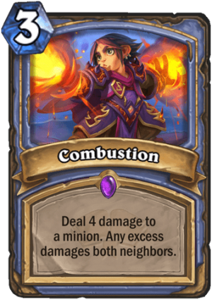 Combustion Card