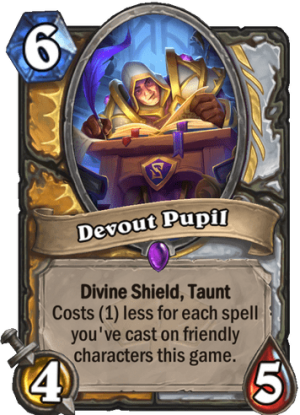 Devout Pupil Card
