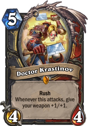 Doctor Krastinov Card