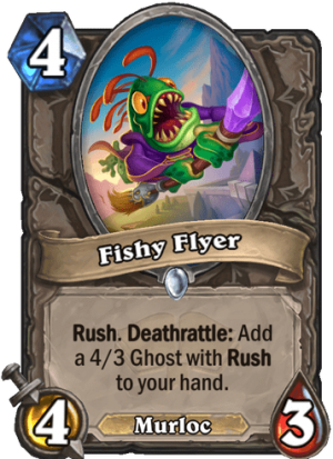 Fishy Flyer Card