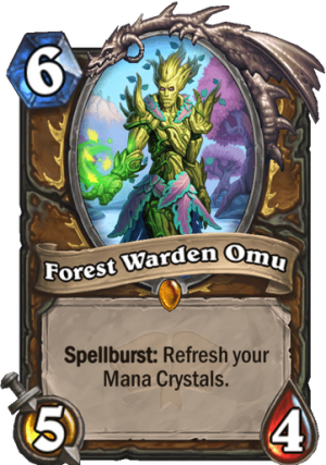 Forest Warden Omu Card