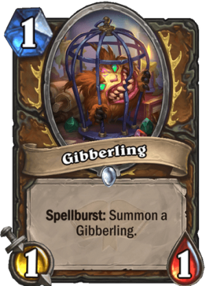 Gibberling Card