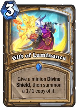 Gift of Luminance Card
