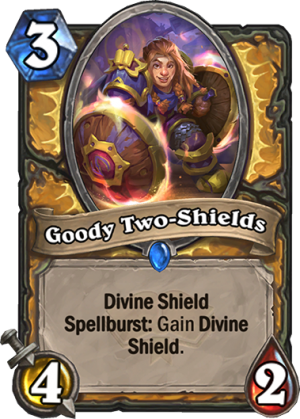 Goody Two-Shields Card
