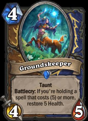 Groundskeeper Card