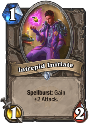 Intrepid Initiate Card
