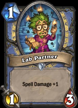 Lab Partner Card
