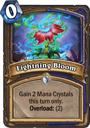 Lightning Bloom Card