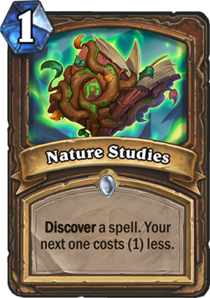 Nature Studies Card