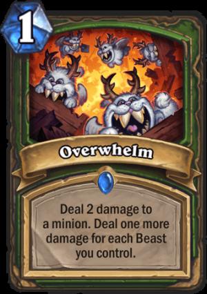 Overwhelm Card