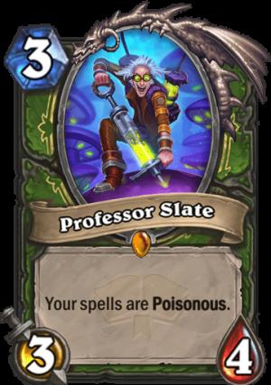 Professor Slate Card