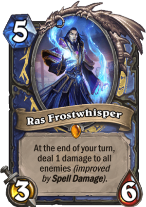 Ras Frostwhisper Card