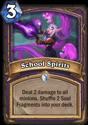 School Spirits Card